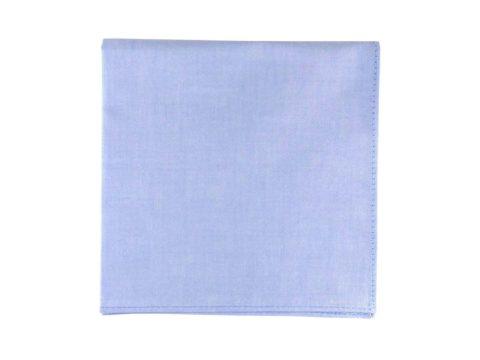Pochette de veste bleue, modèle Bleue. Bleu claire texturé.