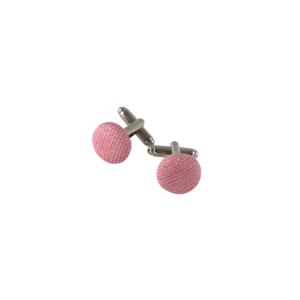 boutons de manchette rose