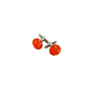 boutons de manchette orange liberty