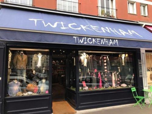 noeuds papillon dans la boutique Twickenham au Havre